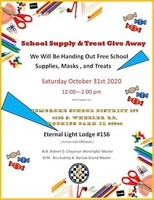 School Supply and Treats Giveaway