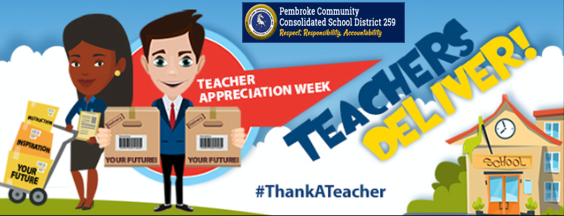 #ThankATeacher! It's teacher appreciation week.